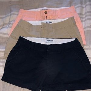Set of 3 old navy shorts